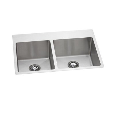 "Elkay Avado 33"" x 22"" Slim Rim Kitchen Sink"