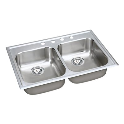 "Elkay Gourmet 33"" x 22"" x 8.38"" Kitchen Sink"
