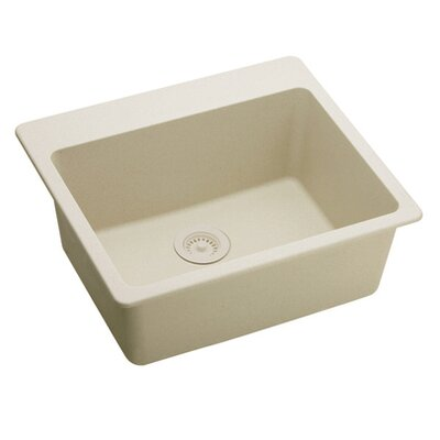 "Elkay Gourmet 25"" x 22"" E-Granite Kitchen Sink"