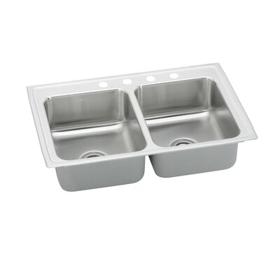"Elkay Gourmet 33"" x 21.25"" x 7.5"" Kitchen Sink"
