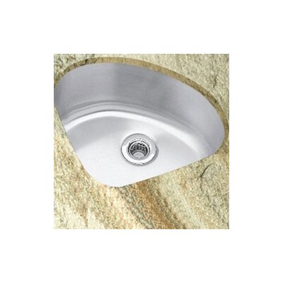 Undermount Corner Kitchen Sink : Lustertone 13