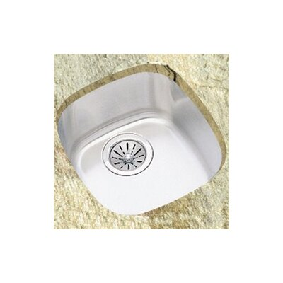 "Elkay 14.5"" x 15.75"" Undermount Single Bowl Kitchen Sink"