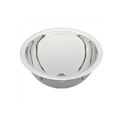 Elkay Round Stainless Steel Bathroom Sink