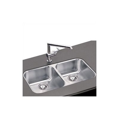 "Elkay Elumina 31.75"" x 18.25"" Undermount Double Kitchen Sink"