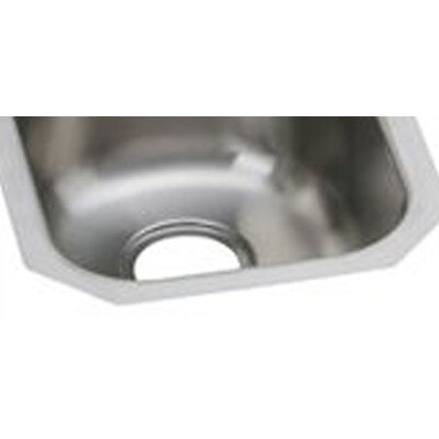 "Elkay Gourmet 17.5"" x 14"" Single Bowl Kitchen Sink"