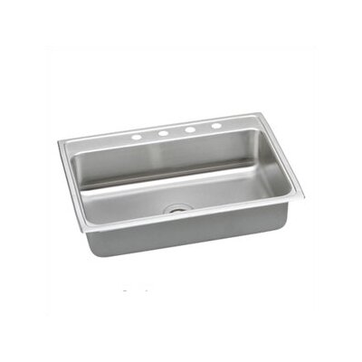 "Elkay Packemaker Gourmet 25"" x 22"" Single Bowl Sink Set"