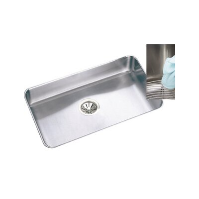 "Elkay Gourmet 30.5"" x 18.5"" x 7.5"" E-Dock Undermount Kitchen Sink"