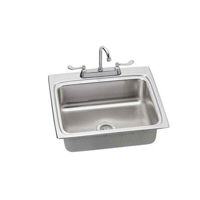 "Elkay 25"" x 22"" Kitchen Sink with Faucet"