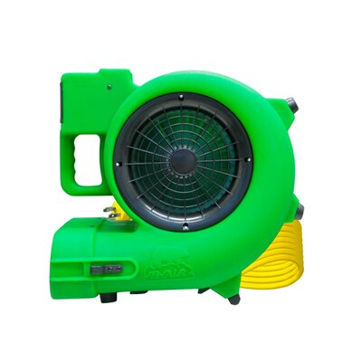 "B-Air Blower ""Daisy Chainable"" Air Mover / Blower and Dryer in Green"