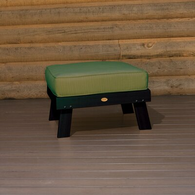 Highwood USA Pocono Ottoman with Cushion