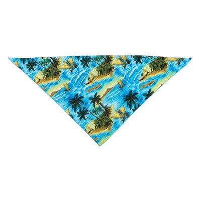 Aria Aloha Dog Bandana in Blue