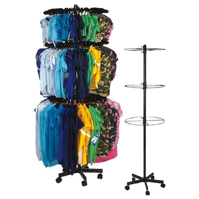 East Side Collection Three Tier Apparel Rounder Pet Apparel Display