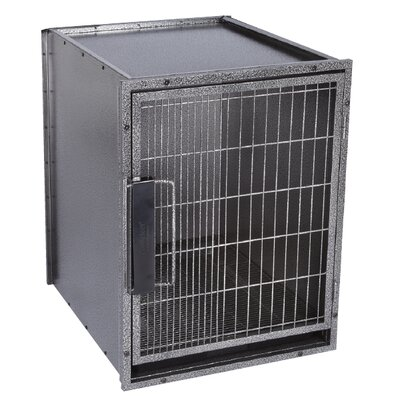 Pet Studio Proselect Modular Kennel Dog Crate in Graphite
