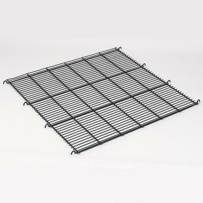 ProSelect Replacement Floor Grate for Modular Cage in Black