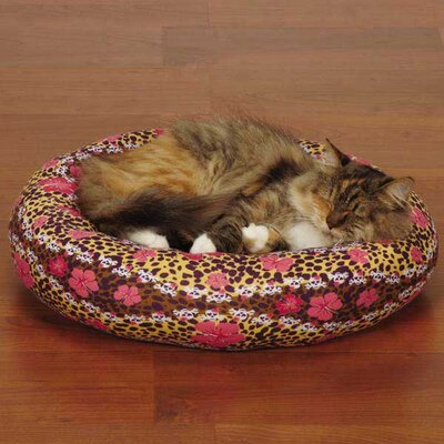 Cozy Kitty Skull-fari Cat Bed