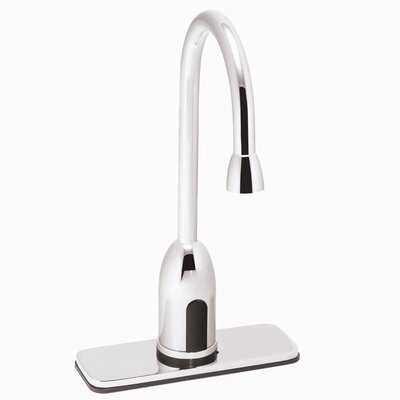 Speakman Sensorflo Single Hole Electronic Gooseneck Faucet Less Handles