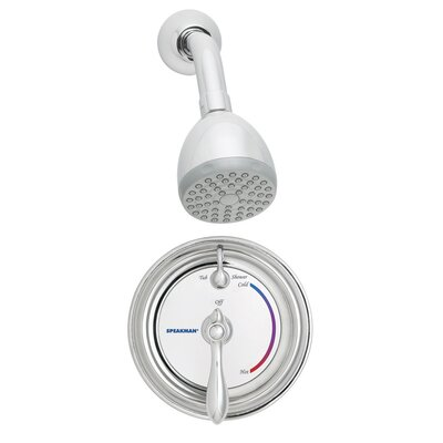 Speakman Sentinel Mark II Anti - Scald Balanced Pressure Thermostatic Shower Faucet