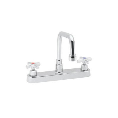Speakman Commander Centerset Faucet with Double Cross Handles