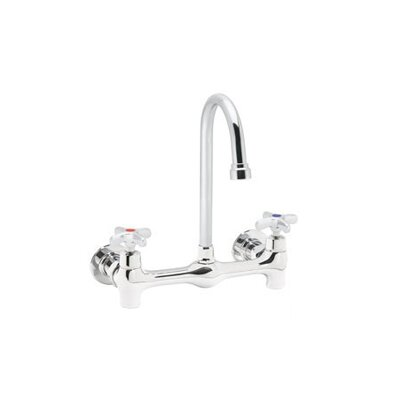 Speakman Commander Wall Mounted Faucet with Double Cross Handles