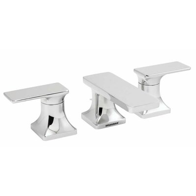 The Edge Double Handle Widespread Bathroom Faucet with Drain Assembly - SB-1521 / SB-1521-BN