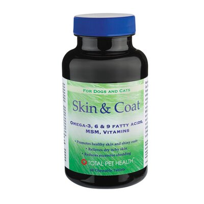 Skin and Coat Dog Tablets