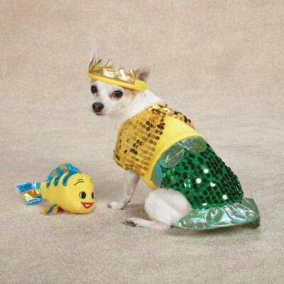 Lil' Furrmaid Dog Costume