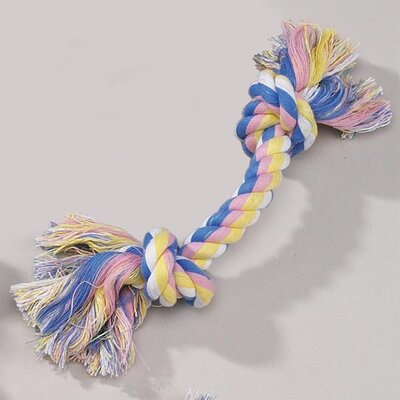 Zanies Pastel Rope Bone Dog Toy