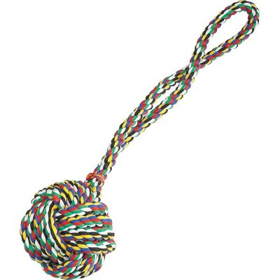 Zanies Monkeys Fist Knot Rope Dog Toy in Multi-Color
