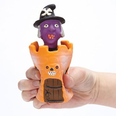 Zanies Peek-A-BOO's Witch Dog Toy