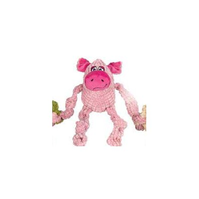 Zanies Bungee Bunch Pig Dog Toy