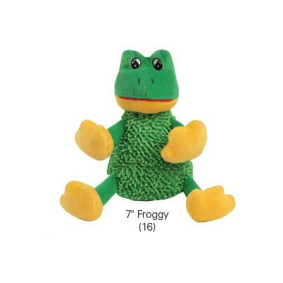 Zanies Cutie Crew Froggy Dog Toy