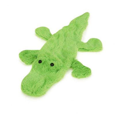 Zanies Predator Unstuffies Squeaker Alligator Dog Toy