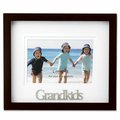 Contemporary Grandkids Picture Frame
