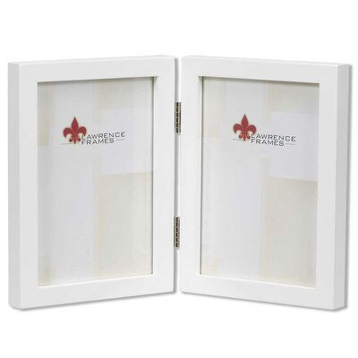 Lawrence Frames Classic Studio Gallery Hinged Double Wood Picture Frame