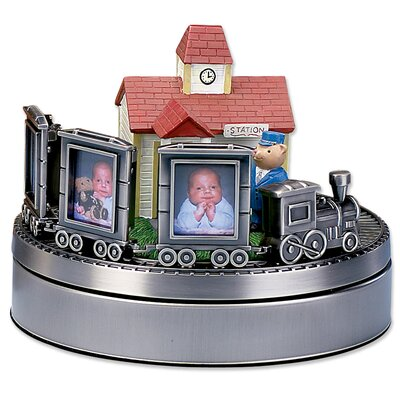 Lawrence Frames Wind Up Musical Choo Choo Train Picture Frame