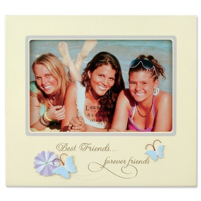 Best Friends Butterfly Picture Frame