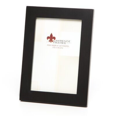 Lawrence Frames Wood Black Picture Frame