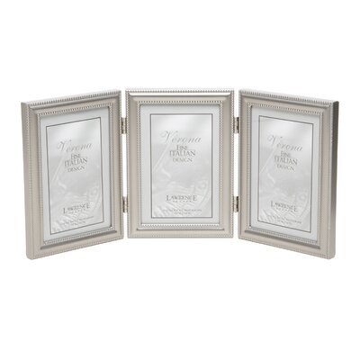 Hinged Triple Vertical Picture Frame