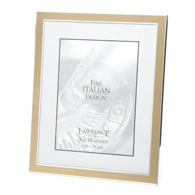 Lawrence Frames Velvet Backing Metal Picture Frame