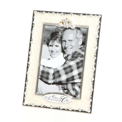 50th Anniversary Double Opening Picture Frame