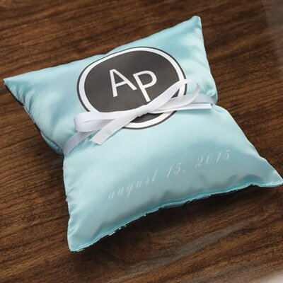 Checkerboard, Ltd Personalized Tangent Ring Pillow