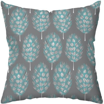 Checkerboard Guinea Feathers Poly Cotton Throw Pillow