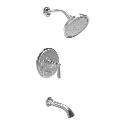 Newport Brass Sutton Pressure-Balanced Tub and Shower Trim with Lever Handle