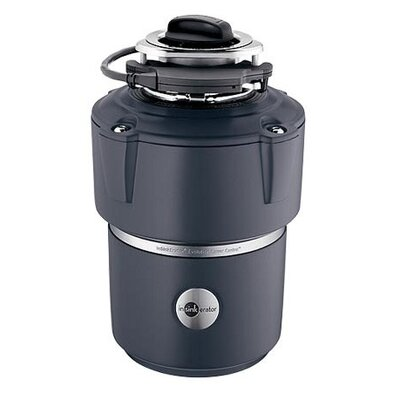 The Evolution 3/4 HP Garbage Disposal with Cover Control