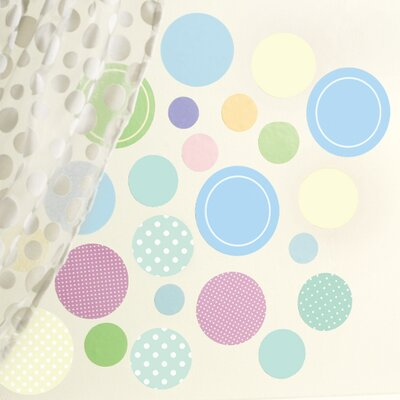 Wallies Baby Dots Wall Stickers