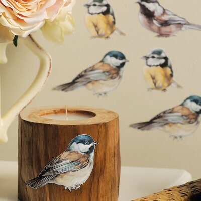 Wallies Chickadees Wallpaper Cutouts