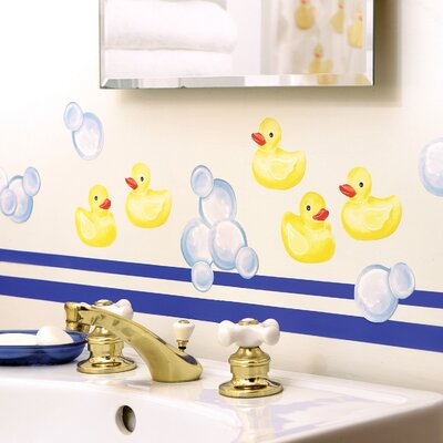 Wallies Duckies Wallpaper Cutouts
