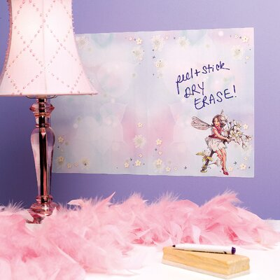 Wallies Flower Fairies Dry Erase Vinyl Wall Decal
