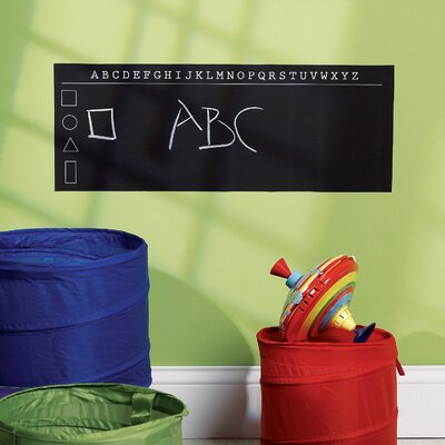 Wallies ABC's Chalkboard Vinyl Peel and Stick