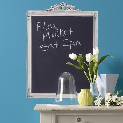 Wallies Framed Chalkboard Mural Vinyl Peel and Stick